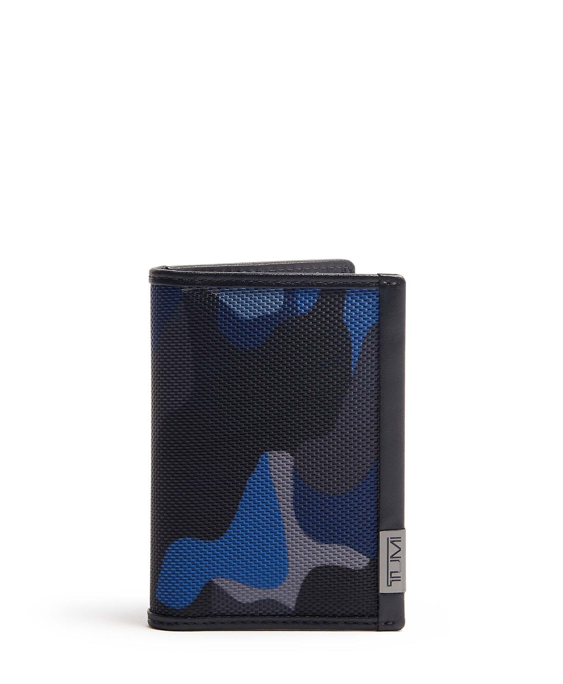 Tumi Alpha Multi Window ID Card Case Camo Blue