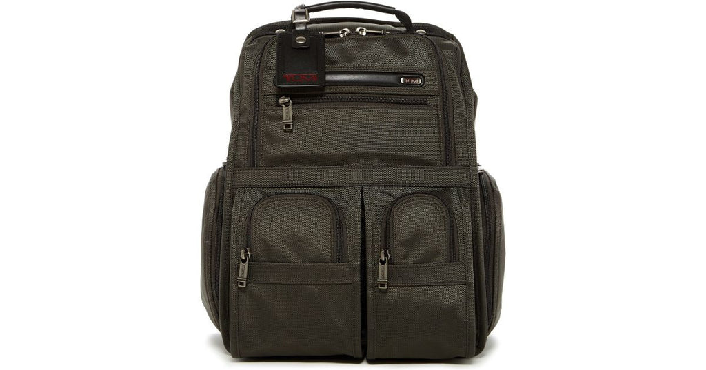 Tumi Alpha Bravo Compact Brief Laptop Business Backpack