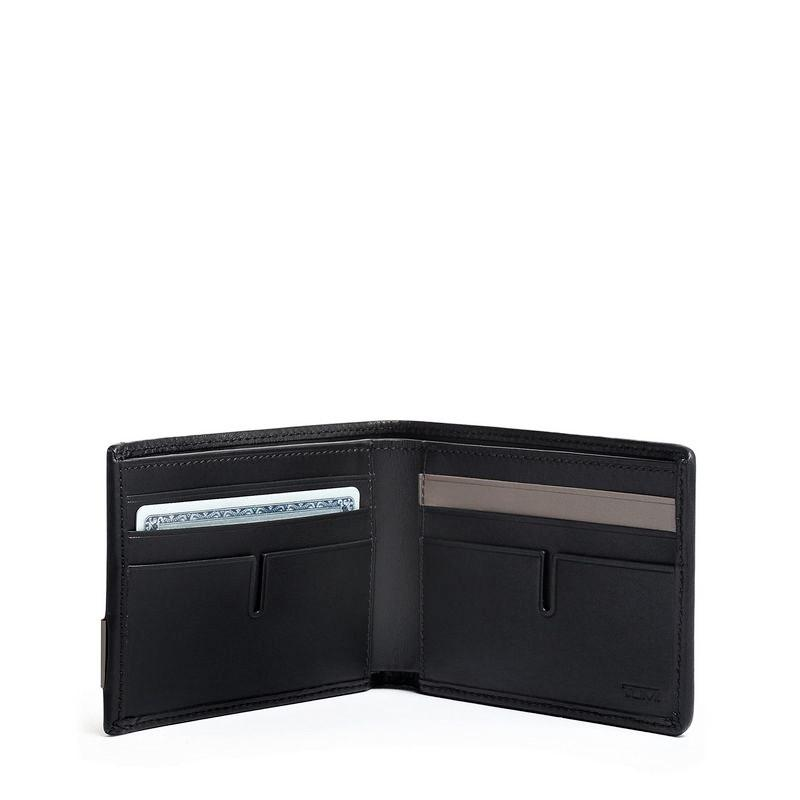 Tumi Alpha RFID Double Billfold Wallet Grey Highlands