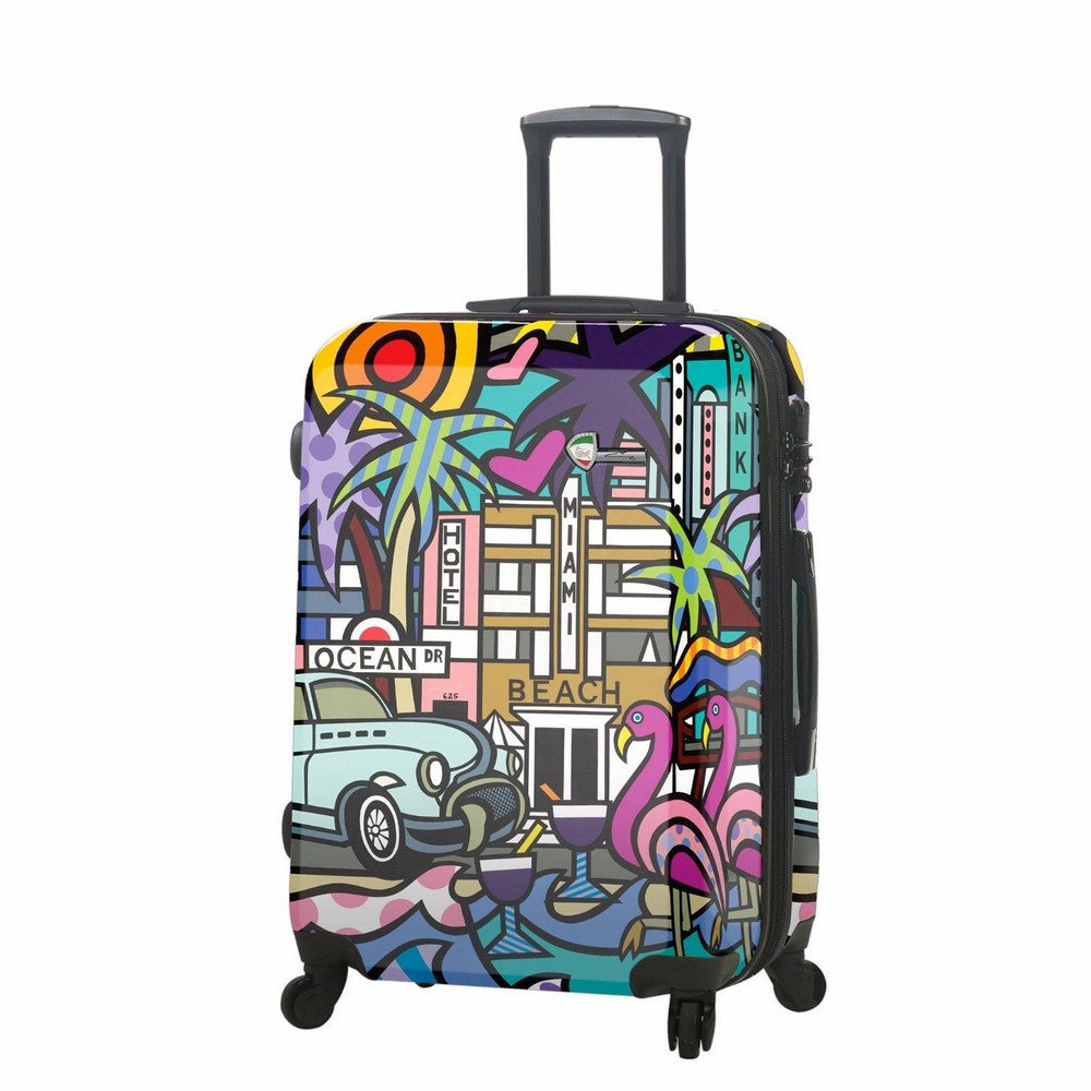 "Mia Toro Jozza Miami 24"" 4 Wheel Spinner Luggage"