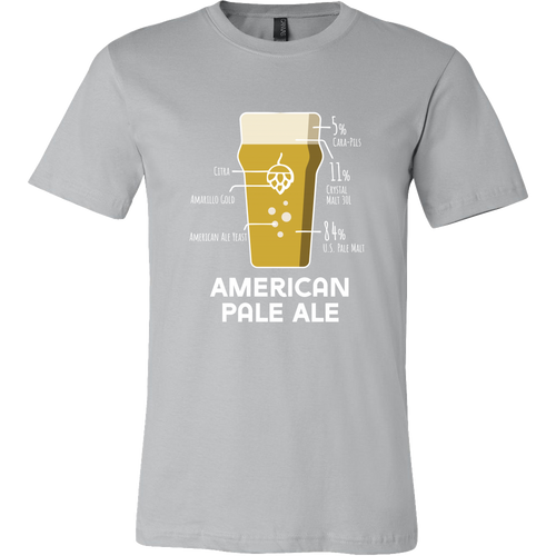 American Pale Ale Grain Bill T-Shirt