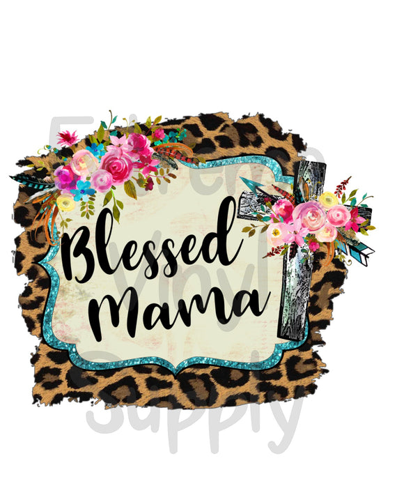 Blessed Ready to Press Transfer or Sublimation