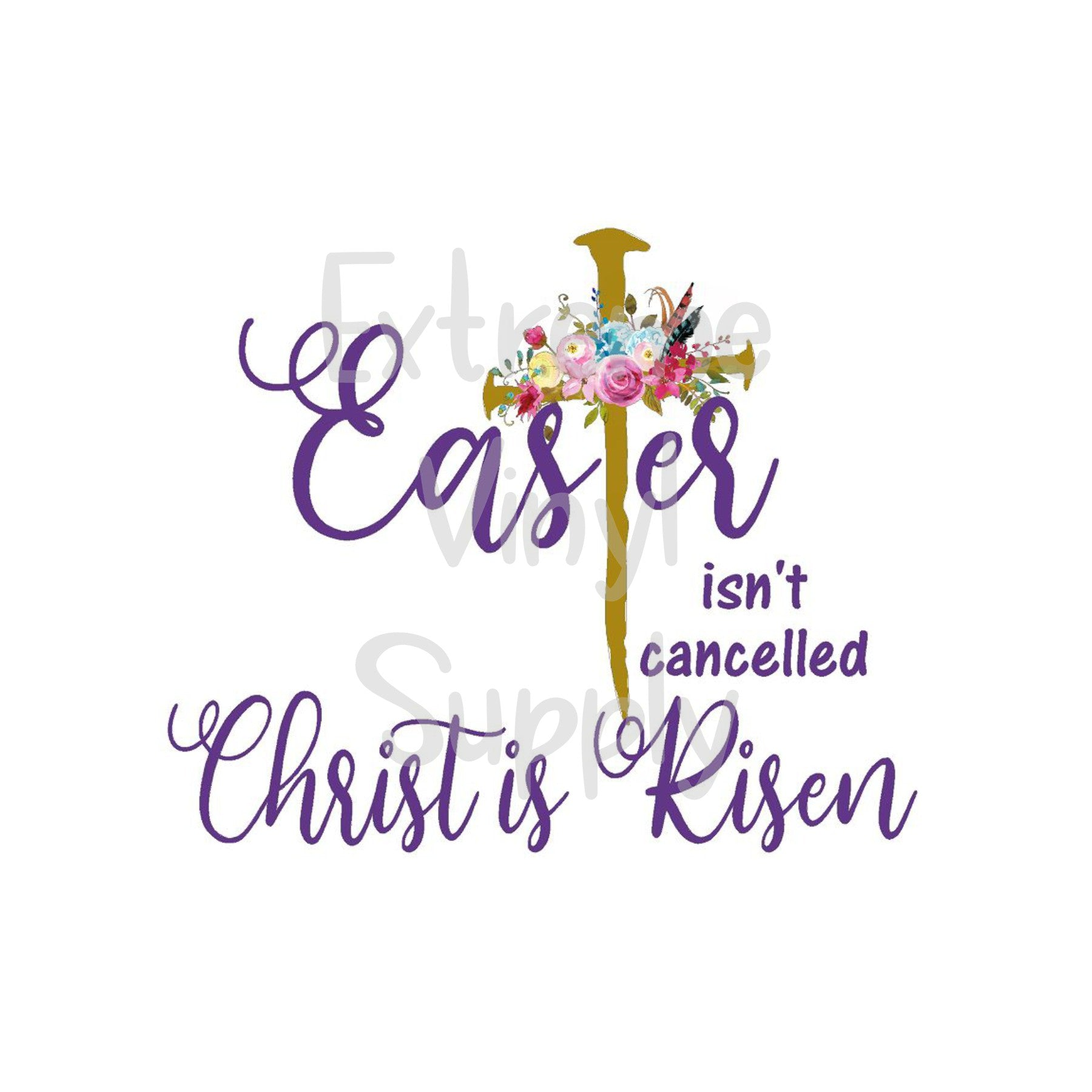 Easter Ready to Press Transfer or Sublimation