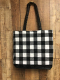 Buffalo Plaid Totes