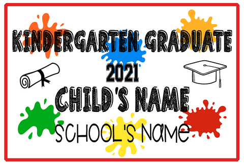 Pre-K & Kindergarten Signs and Banners