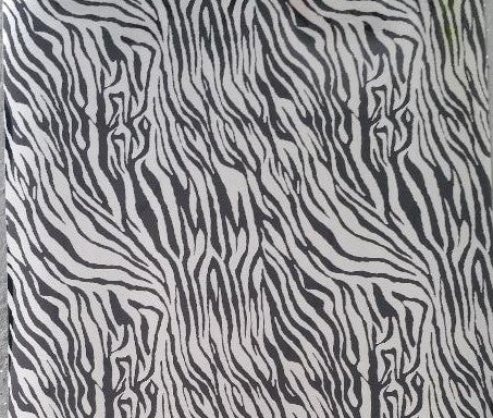 Zebra Metallic