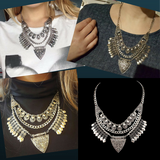 Bohemia Design Alloy Choker Necklaces