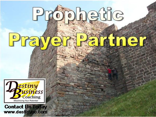 Prophetic Intercession and Support - Monthly Package