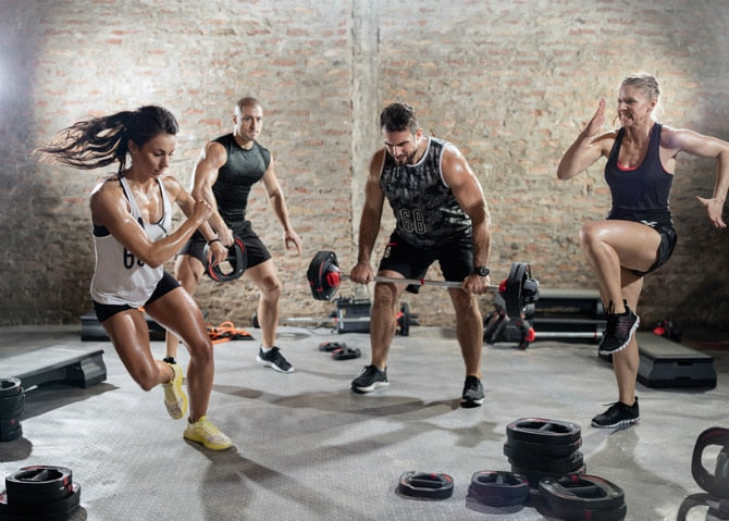 High Volume, HIIT and Circuit Training