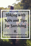 Hiking with Kids and Tips for Surviving It!