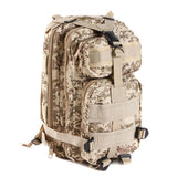 Camouflage Tactical Backpack - 30L