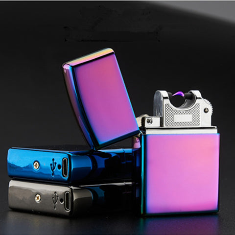 Pulsed Arc Lighter - Windproof and USB Rechargeable