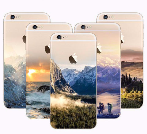 Natural Scenery Series Phone Case For iPhone