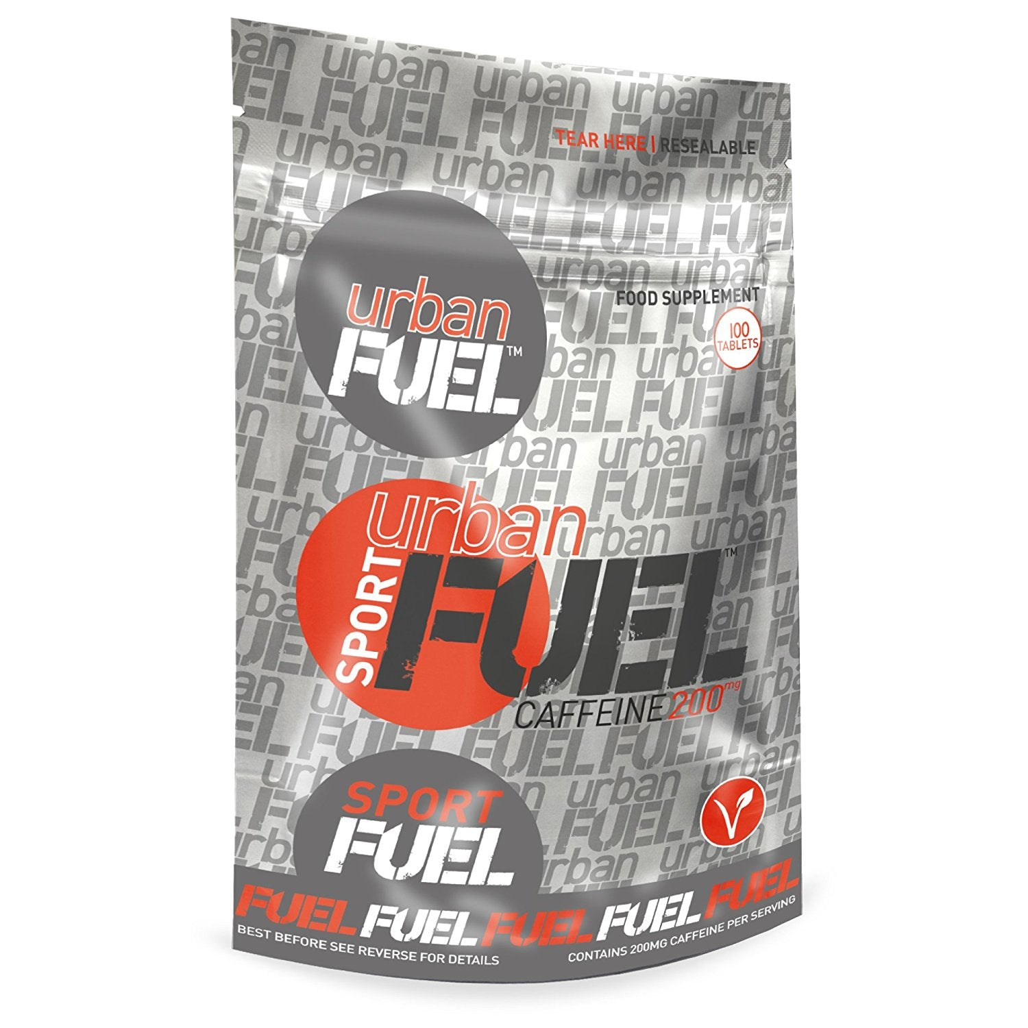 Urban Fuel Caffeine 200mg