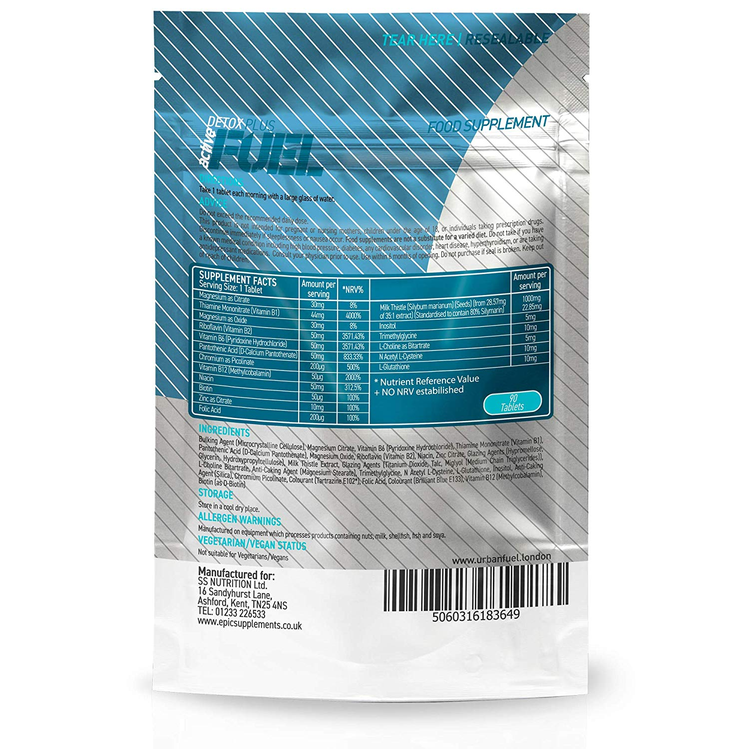Active Detox Plus by Urban Fuel