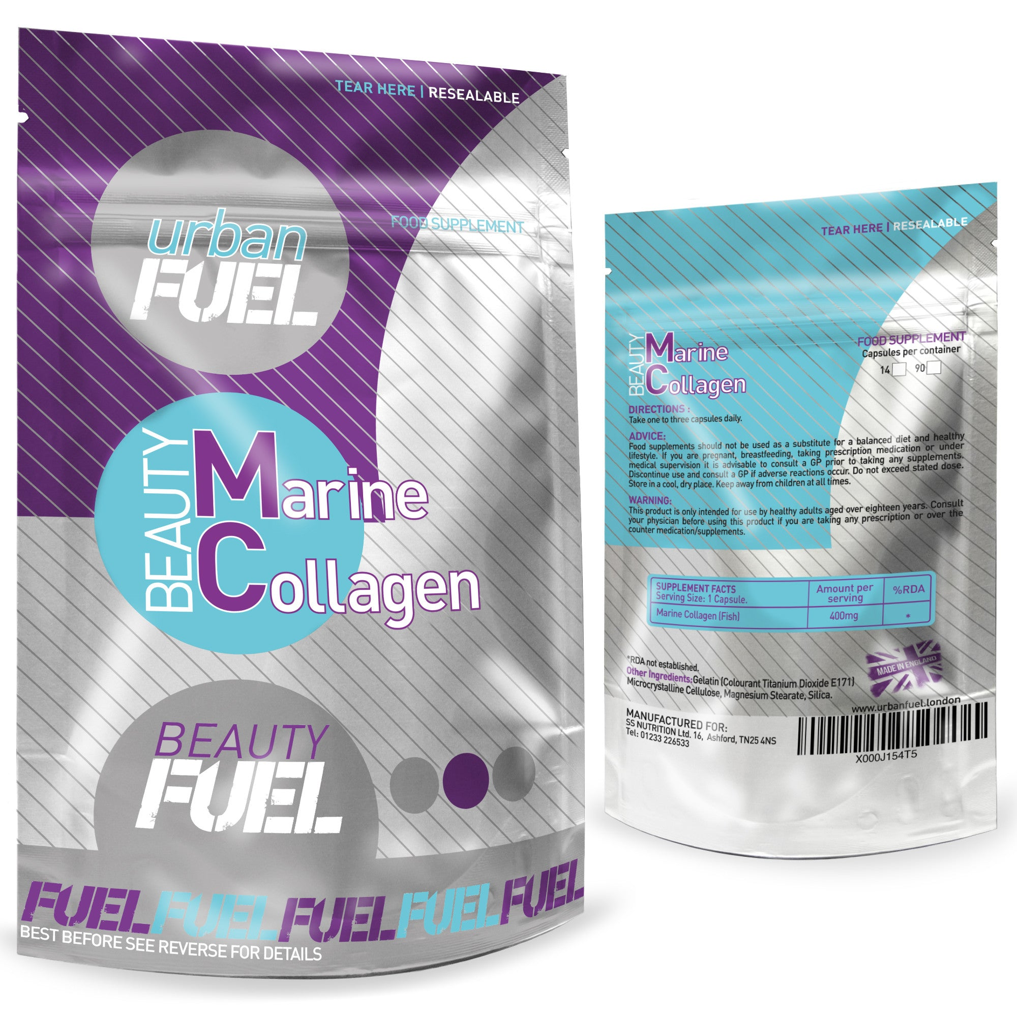 Beauty Marine Collagen By Urban Fuel