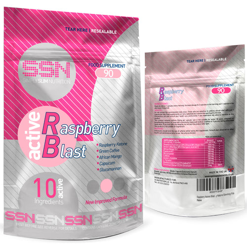 Active Raspberry Blast Fat Burners by Urban Fuel