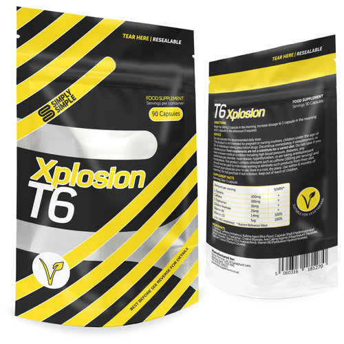 T6 Xplosion Fat Burners By Simply Simple