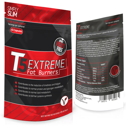Simply Slim T5 Extreme Fat Burners