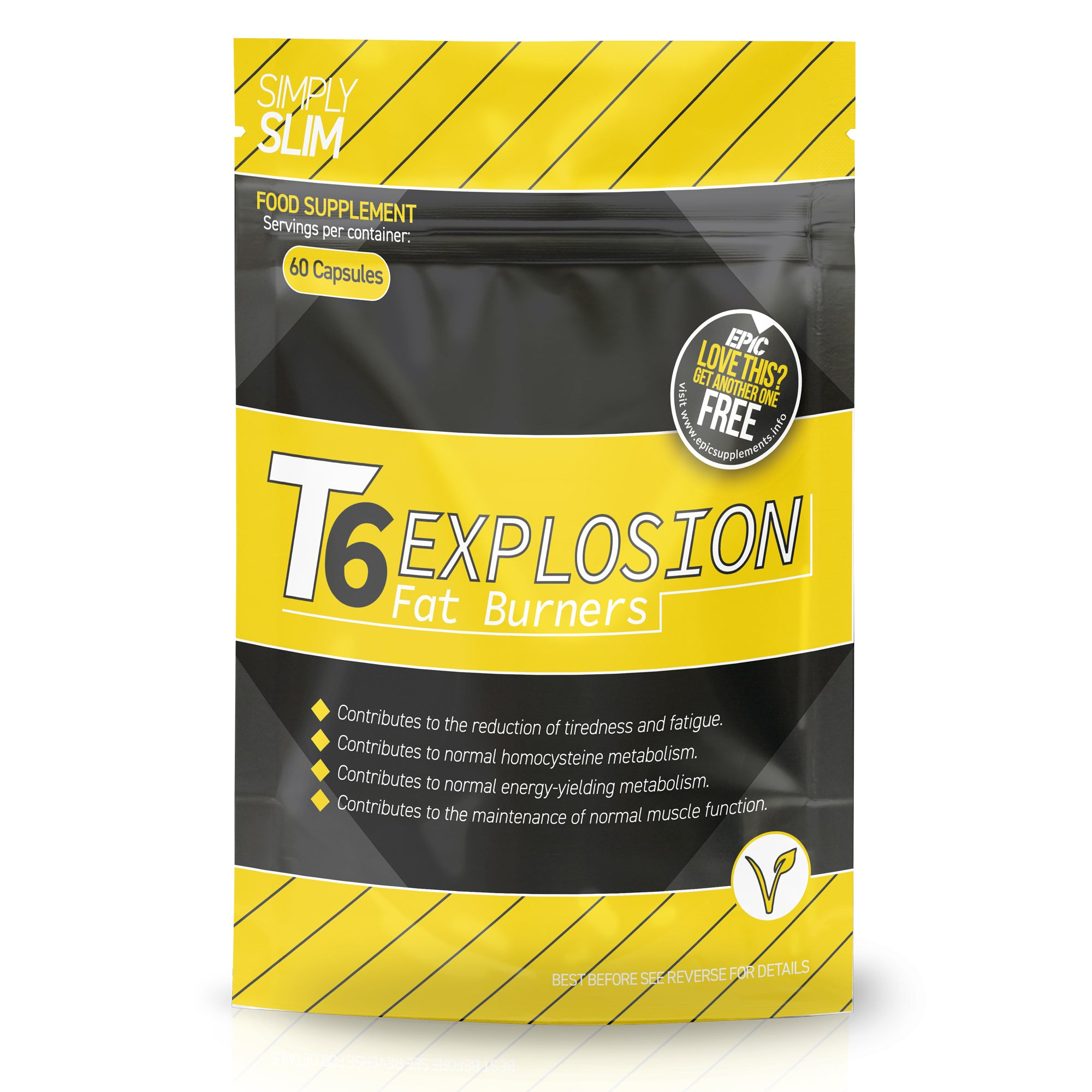 Simply Slim T6 Explosion Fat Burners