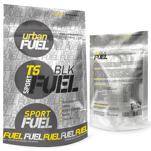 Sport T5 BLK Fuel Fat Burners By Urban Fuel