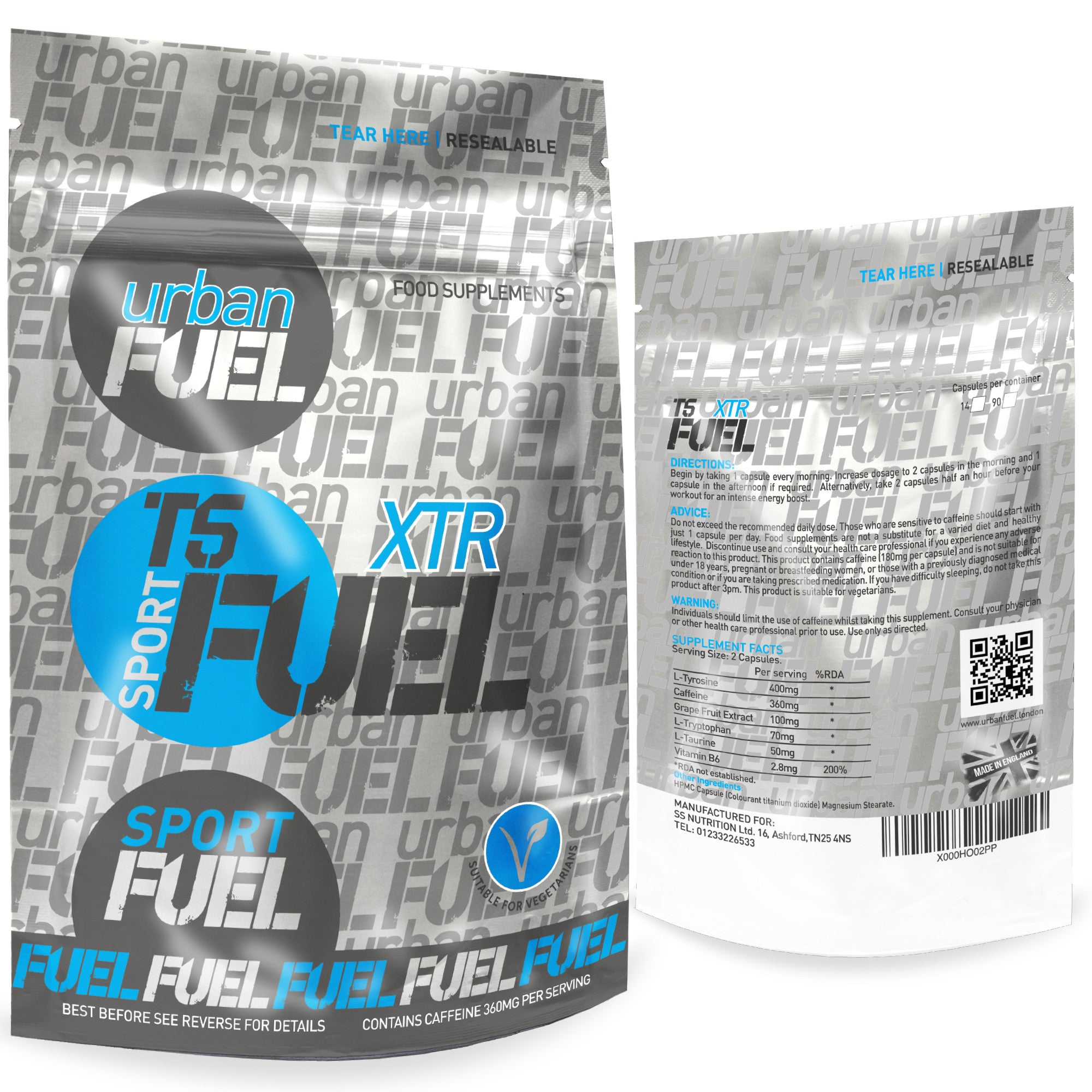 Sport T5 XTR Fat Burners By Urban Fuel