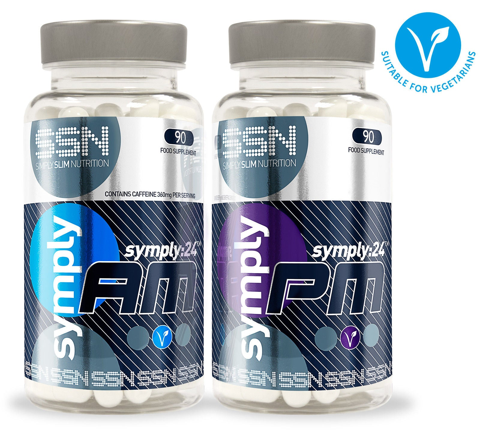 Symply24 AM/PM All day supplements by Urban Fuel
