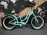 Step-Through Electric Fat Tire Bicycle