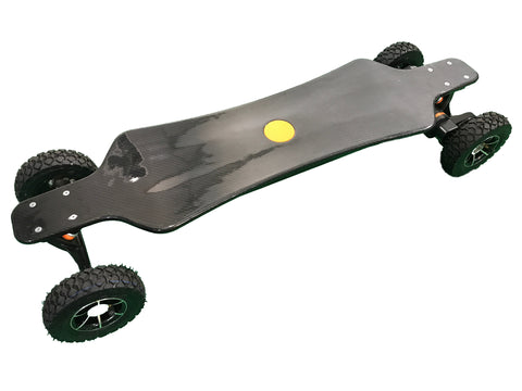3200 watt Carbon Fiber All Terrain Electric Longboard-Clearance