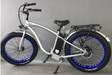 Step-Over Electric Fat Tire Bicycle