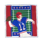 Legends of the Gridiron Pocket Squares