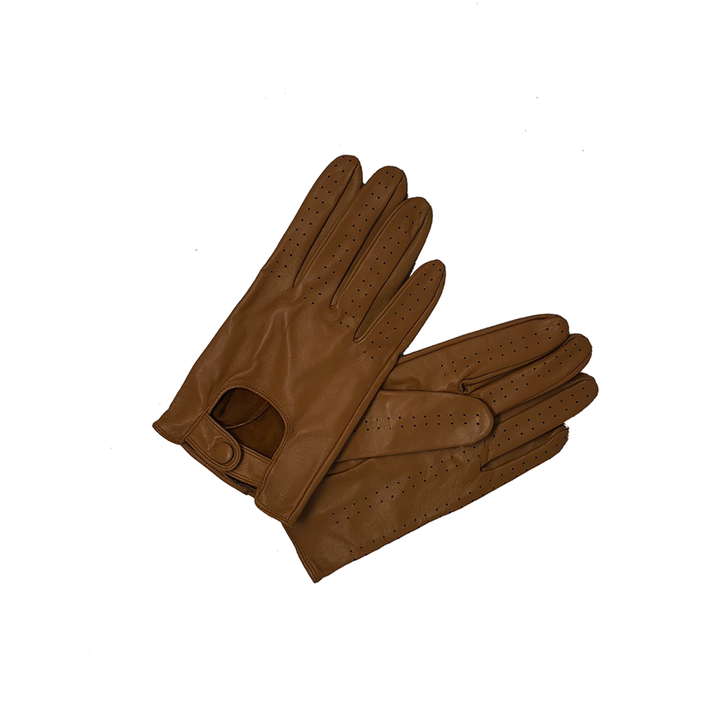 Driving Gloves: Tan