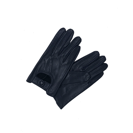 Driving Gloves: Midnight Blue