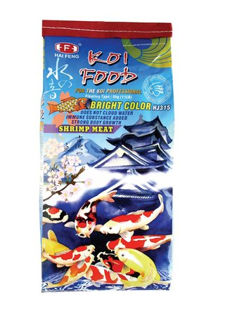 Hai Feng Bright Color Koi Food 11lbs (IN-STORE PICKUP ONLY)