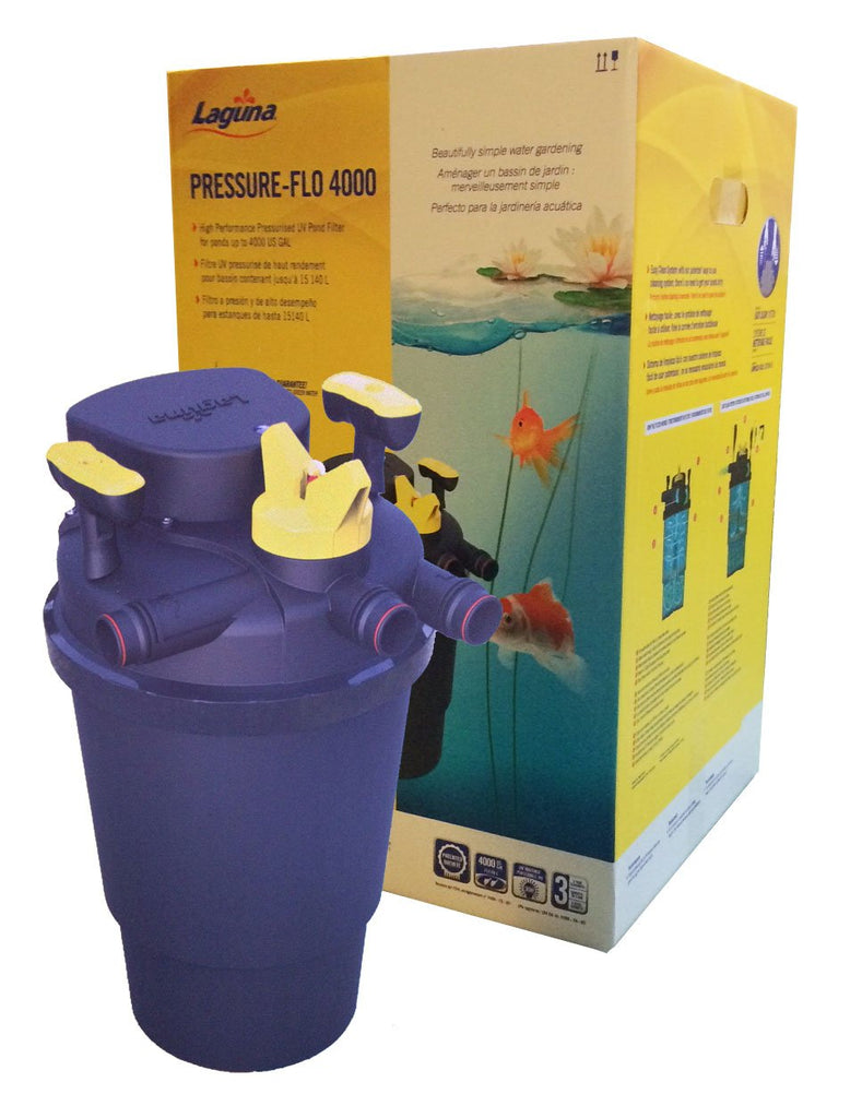 Laguna Pressure Flo Filters With UV (IN-STORE PICK UP ONLY)