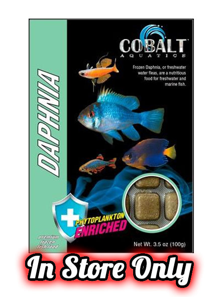 Cobalt Frozen Daphnia Cubes (IN-STORE PICKUP ONLY)