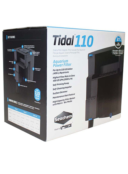Seachem Tidal Power Filters (IN-STORE PICKUP ONLY)