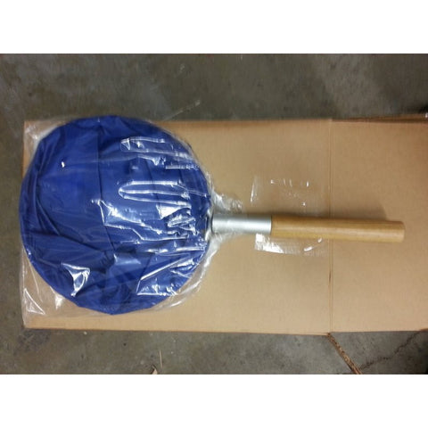 "Sock Net Blue w/ Wood Handle 10"" Diameter (IN-STORE PICKUP ONLY)"