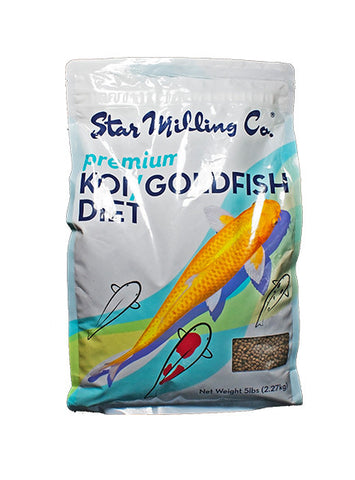 Star Milling Koi/Goldfish Diet - 50lbs (38% Protein) (IN-STORE PICKUP ONLY)