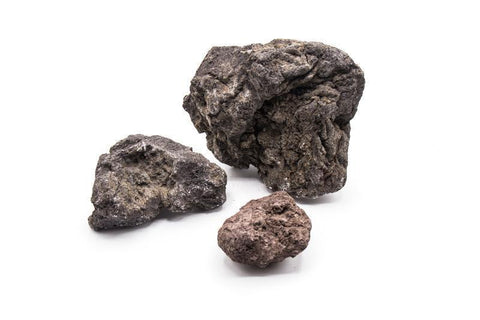Black Lava Rocks (by the lb) - IN STORE PICK UP ONLY