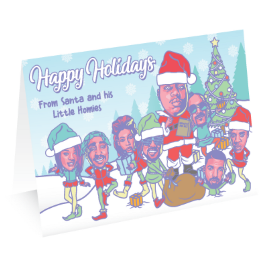 Homie Holidays - Greeting Card