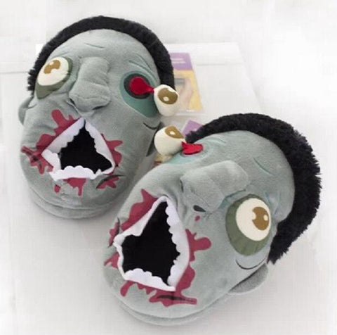 Ravenous Zombie Slippers