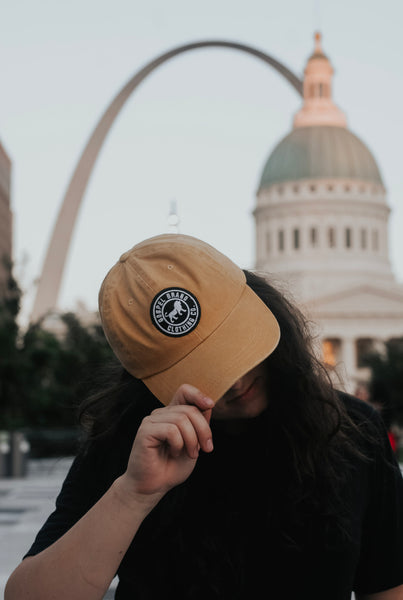 Circle Patch Dad Hat
