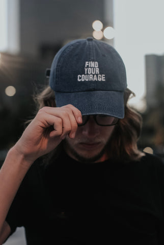 Find Your Courage Dad Hat