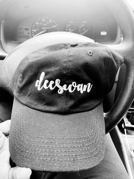 Dee Swan Paint Brush Dad Hat