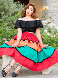 Miranda Skirt - miss nouvelle vintage inspired pinup rockabilly 1950s retro fashion