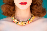 Carmen Necklace - miss nouvelle vintage inspired pinup rockabilly 1950s retro fashion