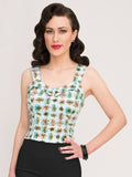 Hubba Hubba Top, Atomic - miss nouvelle vintage inspired pinup rockabilly 1950s retro fashion