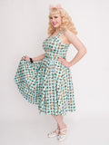 Twirl Skirt, Atomic - miss nouvelle vintage inspired pinup rockabilly 1950s retro fashion