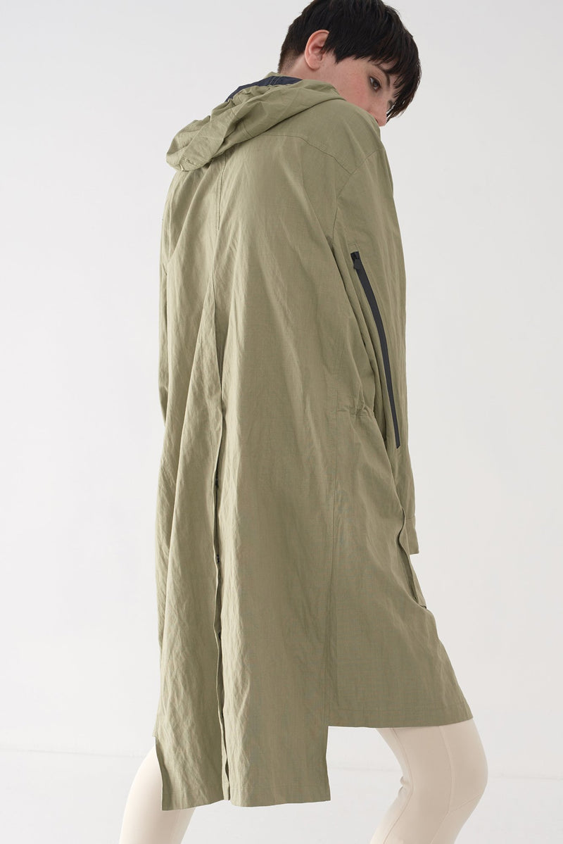 FIL - Long Utility Raincoat - Søsken Studios